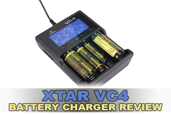 xtar vc4 battery charger review