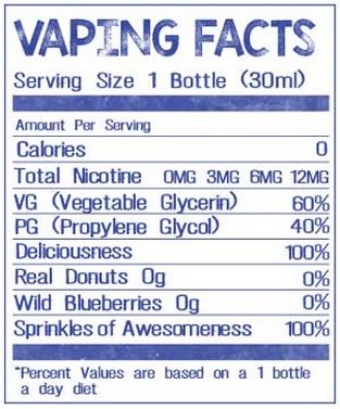 i love donuts vaping facts