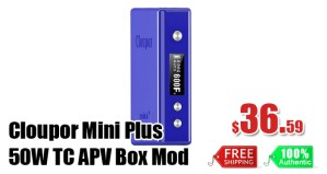 cloupor mini plus 50w tc deal