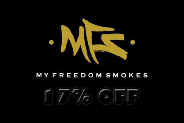 my freedom smokes 17 off deal