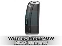wismec presa 40w mod review