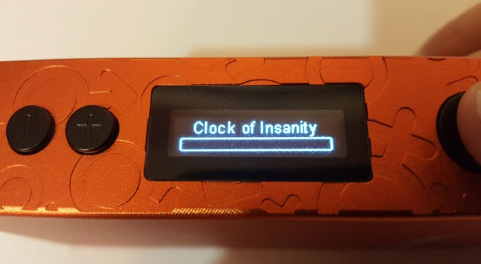 clock of insanity