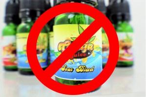 no to marijuana e-liquid