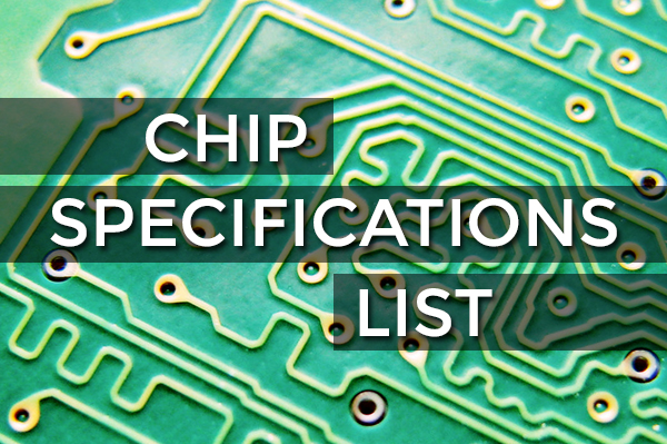 vaping chip specifications list