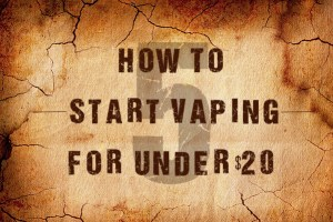how to start vaping for under 20