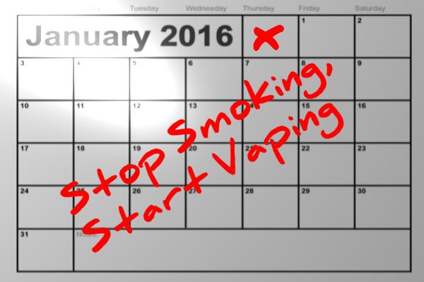 New Years Resolution: Start Vaping