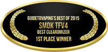 1st Place - Best Clearomizer - Smok TFV4