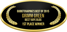 1st Place - Best Vape Blog - Grimm Green