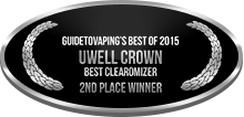 2nd Place - Best Clearomizer - Uwell Crown