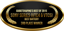 3rd Place - Best Battery - Sony Series (VTC4 & VTC5)