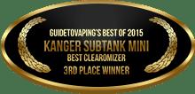 3rd Place - Best Clearomizer - Kanger SubTank Mini
