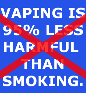 health groups can't afford vaping success: ignoring the truth