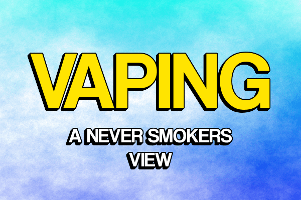 Vaping:A never smokers view header