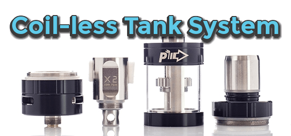 Pioneer4You Pure X2 Coil-less tank system header