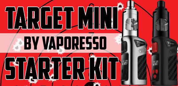 Vaporesso Target Mini Starter kit 40 watts Temperature control featured image