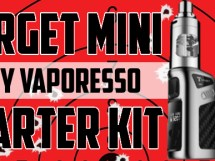 Vaporesso Target Mini Starter kit 40 watts Temperature control featured image