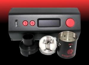 KangerTech 160 watt temperature control DripBox Preview GuideToVaping Breakdown
