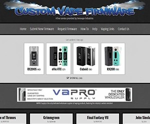 custom vape firmware