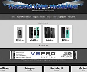 custom vape firmware