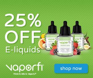 VaporFi 25 Off Liquids