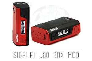 Sigelei J80 Box Mod Preview