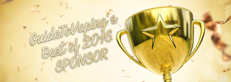 GuideToVaping's Best of 2016 Sponsor