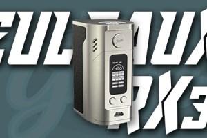 Reuleaux RX300 Mod Silver