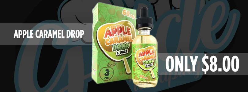 Apple Caramel Drop Ejuice Deal