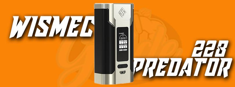 Wismec Predator 228 Mod Preview