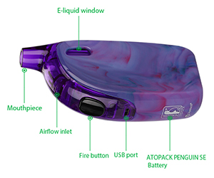 Joyetech ATOPACK Penguin Diagram