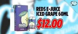 reds e-juice iced grape deal