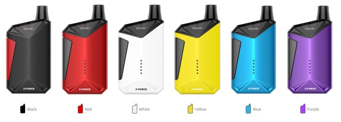 SMOK X-Force Kit Colors