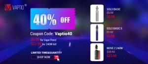 vaptio 40 off deal