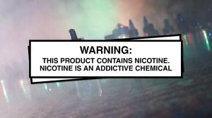 vape ad warning