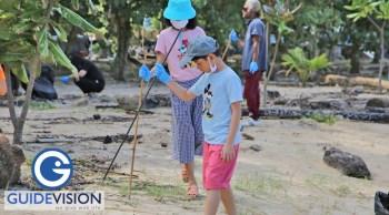 เก็บขยะชายหาด ทำความสะอาดชายหาด รักษ์ธรรมชาติ