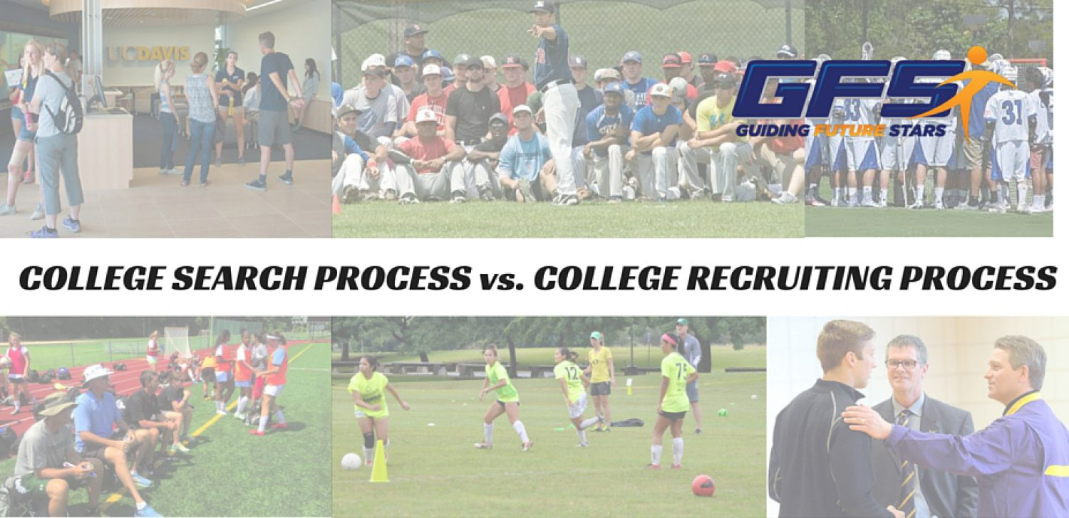 The College Search Process vs. The College Recruiting Process