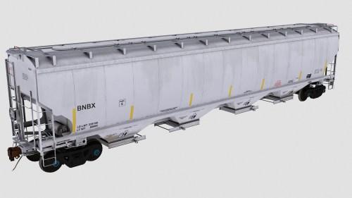 BNBX Trinity 4-Bay Covered Hopper
