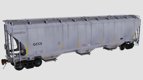 GCCX Trinity 3-Bay Covered Hopper