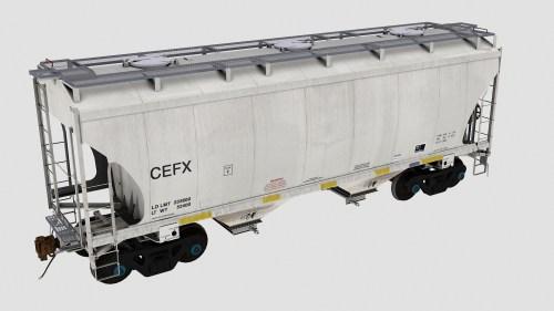 CEFX Trinity 2-Bay Covered Hopper
