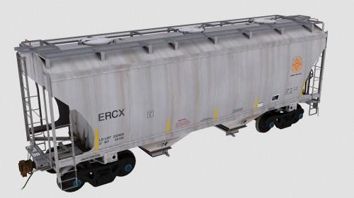 ERCX Trinity 2-Bay Covered Hopper
