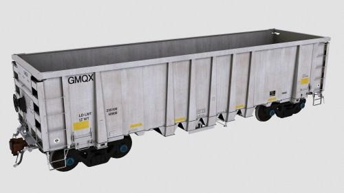 GMQX 1-105 National Steel Car 2500cf Aggregate Gondola