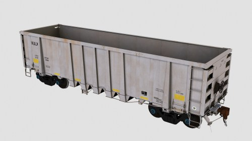 VULX 5301-5600 National Steel Car 2500cf Aggregate Gondola