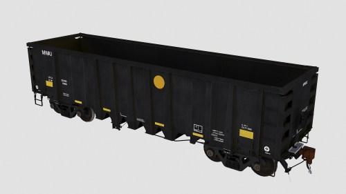 MWAX 3001-3145 National Steel Car 2500cf aggregate gondola