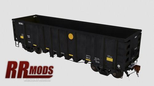 MWAX 3001-3145 NSC 2500cf Aggregate Gondola for Railworks