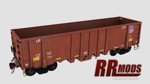 UP 94100-94449 NSC 2500cf Aggregate Gondola for Railworks
