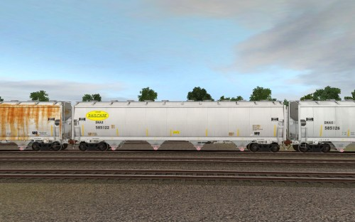 DNAX 585121-585145 Trinity 4-bay plastics hopper 5851cf