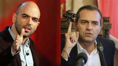 Saviano e De Magistris . Il dibattito sulla criminalità