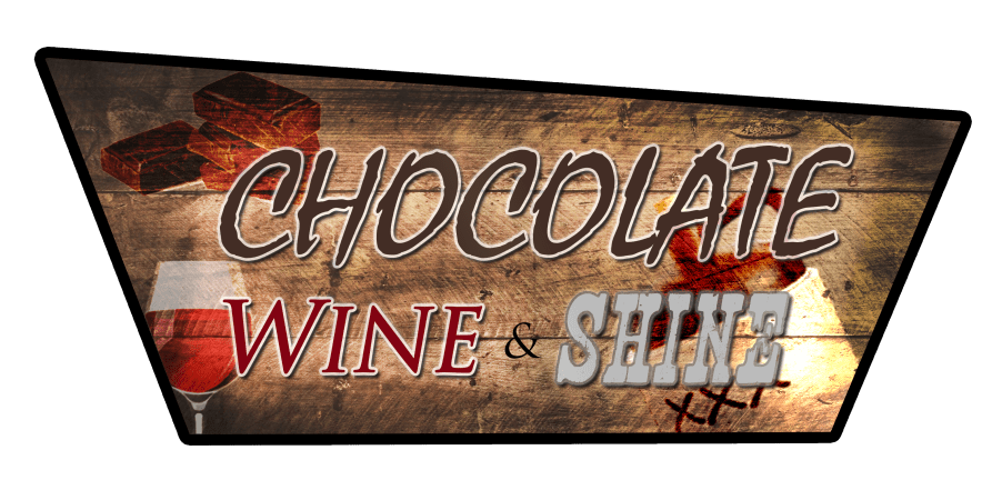 WV Chocolate Wine & Shine Logo Thick-sm