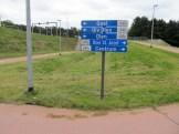 Nieuwe fietsinfrastructuur kruispunt primalux