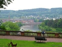 Blick auf Mettlach a/d Saar